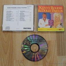 CDs de Música: CD KENNY ROGERS & DOLLY PARTON VOL 2. Lote 40757598