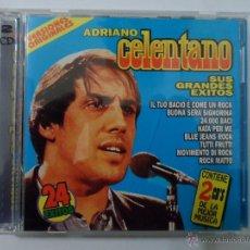 CDs de Música: AA - ADRIANO CELENTANO SUS GRANDES ÉXITOS DOBLE CD AÑO 1999. Lote 40772349