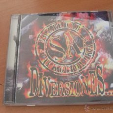 CDs de Música: SOZIEDAD ALKOHOLIKA (DIVERSIONES) CD 9 TRACKS PUNK 1996 (CD17). Lote 40777744