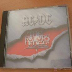 CDs de Música: AC / DC (THE RAZORS EDGE) CD 12 TRACKS USA 1990 (CD17). Lote 40782367