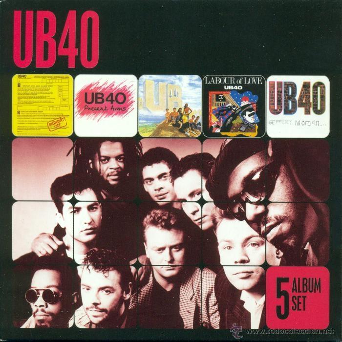 UB40 * 5 CD ALBUM SET * SUS 5 PRIMEROS ÁLBUMES * PACK PRECINTADO DE FÁBRICA (Música - CD's Reggae)