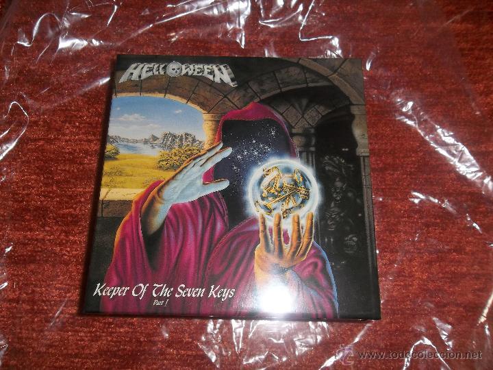HELLOWEEN KEEPER OF THE SEVEN KEYS PROMO BOX JAPAN FOR MINI LP SHM CD (Música - CD's Heavy Metal)