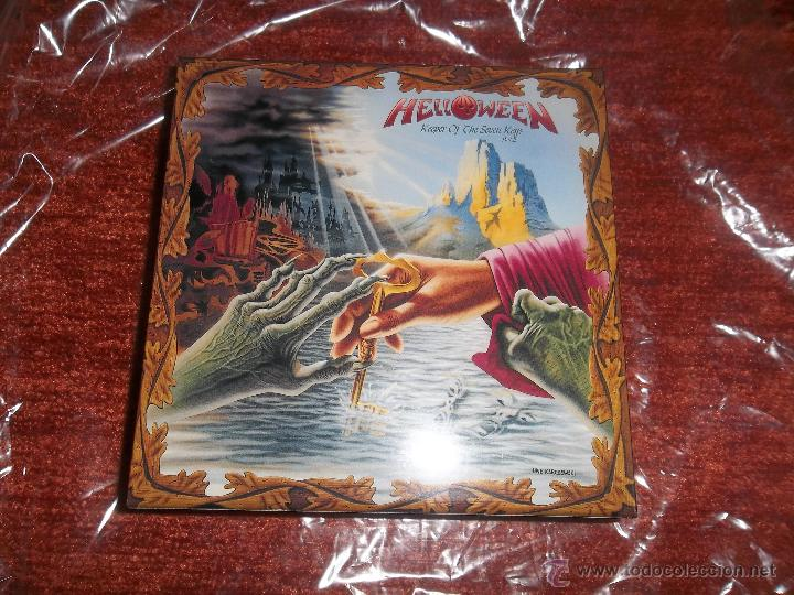 CDs de Música: HELLOWEEN Keeper Of The Seven Keys PROMO BOX JAPAN for Mini LP SHM CD - Foto 2 - 40815827