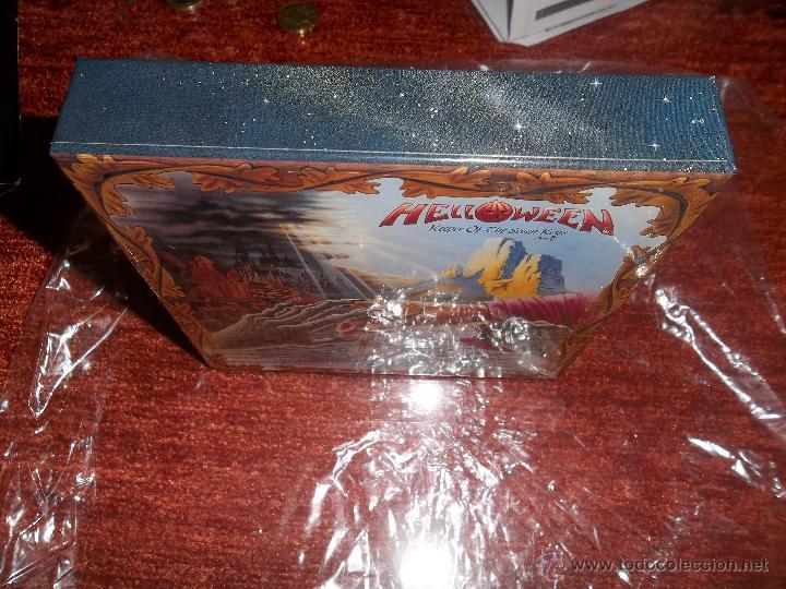 CDs de Música: HELLOWEEN Keeper Of The Seven Keys PROMO BOX JAPAN for Mini LP SHM CD - Foto 4 - 40815827