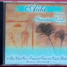 CDs de Música: AIDA - SELECCIÓN - GIUSEPPE VERDI - MARIA CALLAS - CORO Y ORQUESTA DEL TEATRO DE LA SCALA DE MILAN. Lote 40829440