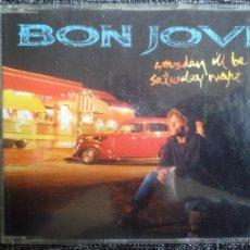 CDs de Música: BON JOVI. SOMEDAY I'LL BE SATURDAY NIGHT. CD SINGLE MERCURY 856 629-2. 1995. 4 TEMAS EN EL CD.. Lote 40835773