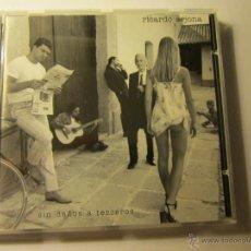 CDs de Música: CD DE RICARDO ARJONA- TITULO SIN DAÑOS A TERCEROS- ORIGINAL DEL 98- ¡¡¡¡NUEVO ¡¡¡¡. Lote 40838917