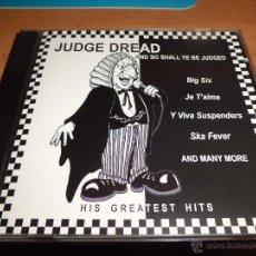 CDs de Música: JUDGE DREAD - HIS GREATEST HITS DRESSED TO KILL IMPORT UK DIFICIL. Lote 40857801