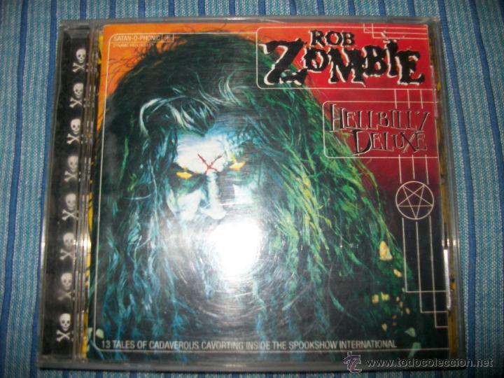 CD - ROB ZOMBIE - HELLBILLY DELUXE - WHITE ZOMBIE (Música - CD's Heavy Metal)