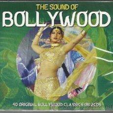 CDs de Música: VV.AA. - THE SOUND OF BOLLYWOOD - 40 ORIGINAL BOLLYWOOD CLASSICS - CD DOBLE NOT NOW NUEVO. Lote 40901122