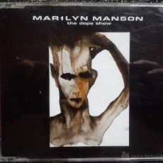 CDs de Música: MARILYN MANSON. THE DOPE SHOW. CD SINGLE NOTHING RECORDS IND 95599. EU 1998. MAR1LYN MAN5ON.. Lote 40909998