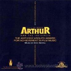 CDs de Música: ARTHUR AND THE INVISIBLES - ERIC SERRA. Lote 40945427