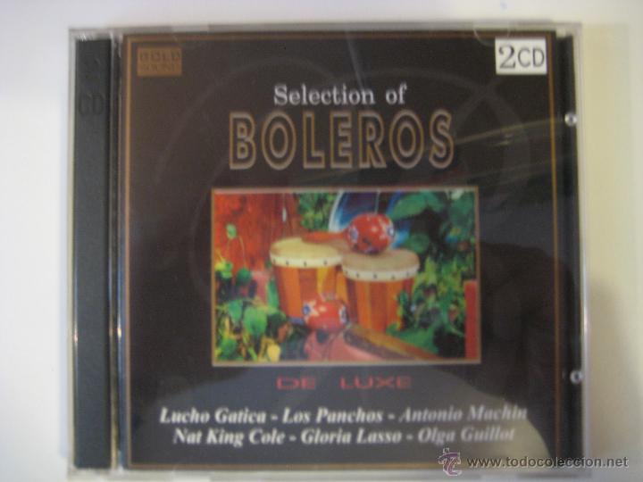 2 CD SELECTION OF BOLEROS DE LUXE (Música - CD's Latina)