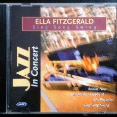 CDs de Música: ELLA FITZGERALD - JAZZ IN CONCERT - CD. Lote 41011335