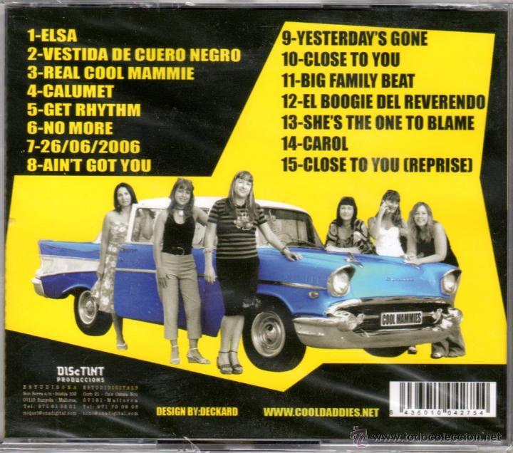 CDs de Música: LISTADO TEMAS contraportada- track list - Foto 2 - 97809160