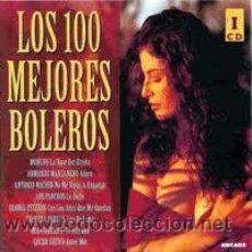 CDs de Música: 4 CD LOS 100 MEJORES BOLEROS. Lote 41020900