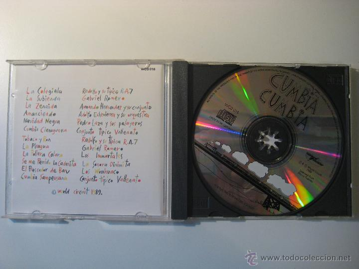CDs de Música: CD CUMBIA CUMBIA - A SELECTION OF COLOMBIAN CUMBIA RECORDINGS - Foto 2 - 41021769