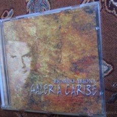 CDs de Música: CD DE RICARDO ARJONA-TITULO GALERIA CARIBE- ORIGINAL DEL 2000- ¡¡¡¡NUEVO A ESTRENAR¡¡¡¡. Lote 41021774