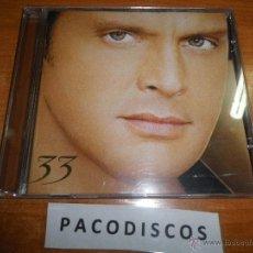 CDs de Música: LUIS MIGUEL 33 CD ALBUM AÑO 2003 CONTIENE 11 TEMAS ARMANDO MANZANERO JUAN LUIS GUERRA KIKE SANTANDER. Lote 112449000