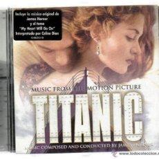 CDs de Música: CD - TITANIC - MUSICA COMPUESTA Y CONDUCIDA POR JAMES HORNER - 15 TEMAS - . Lote 41037358