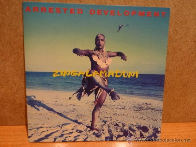 ARRESTED DEVELOPMENT. ZINGALAMADUNI. CD - CHRYSALIS RECORDS - 1994. 15 TEMAS. CALIDAD LUJO. (Música - CD's Reggae)