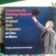 CDs de Música: SANTIAGO AUSERON - ORIGINAL JAZZ ORQUESTRA - CD ALBUM. Lote 41053590