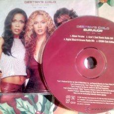 CDs de Música: DESTINY´S CHILD / SURVIVOR - CD SINGLE - 4 REMIXES - BEYONCE. Lote 41054032