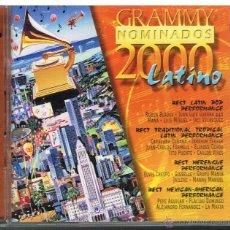 CDs de Música: GRAMMY NOMINADOS 2000 LATINO - 2 CDS 2000. Lote 41061583
