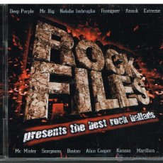 CDs de Música: ROCK FILES - 2 CDS 2001. Lote 41065736