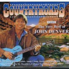 CDs de Música: JOHN DENVER - THE VERY BEST OF JOHN DENVER. COUNTRYROADS - 2 CDS. Lote 41065787