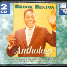 CDs de Música: BROOK BRENTON, ANTHOLOGY - DOBLE CD, 2 CD'S. Lote 41081513