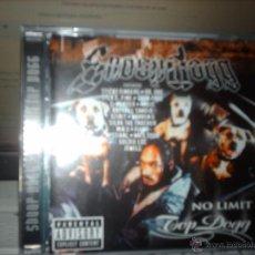 CDs de Música - SNOOP DOGG - NO LIMIT TOP DOGG (1999) - CD PRIORITY - 41125431