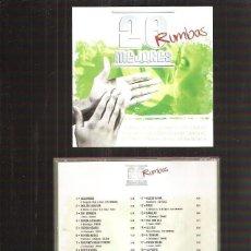 CDs de Música: 20 MEJORES RUMBAS. Lote 41130621