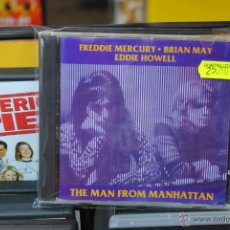 CDs de Música: FREDDY MERCURY + BRIAN MAY + EDDIE HOWELL - THE MAN FROM MANHATTAN - CD. Lote 41145115
