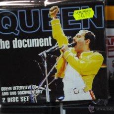 CDs de Música: QUEEN - THE DOCUMENT - CD + DVD. Lote 41145730
