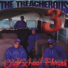 CD di Musica: OLD SCHOOL FLAVA (CD) BY: THE TREACHEROUS 3 -CD 1994. Lote 41147103
