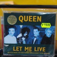 CDs de Música: QUEEN - LET ME LIVE - CD SINGLE. Lote 41159852