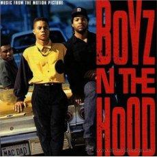 CDs de Música: BOYZ N THE HOOD 1991 LOS CHICOS DEL BARRIO BSO. Lote 41161379
