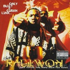 CDs de Música: RAEKWON - ONLY BUILT 4 CUBAN LINX - CD 1995. Lote 41161605