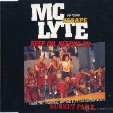 CDs de Música: MC LYTE (KEEP ON, KEEPIN' ON) (CD SINGLE) (1996). Lote 41171291