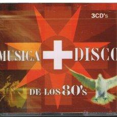 CDs de Música: MÚSICA + DISCO DE LOS 80'S - 3 CDS 2003. Lote 278184243
