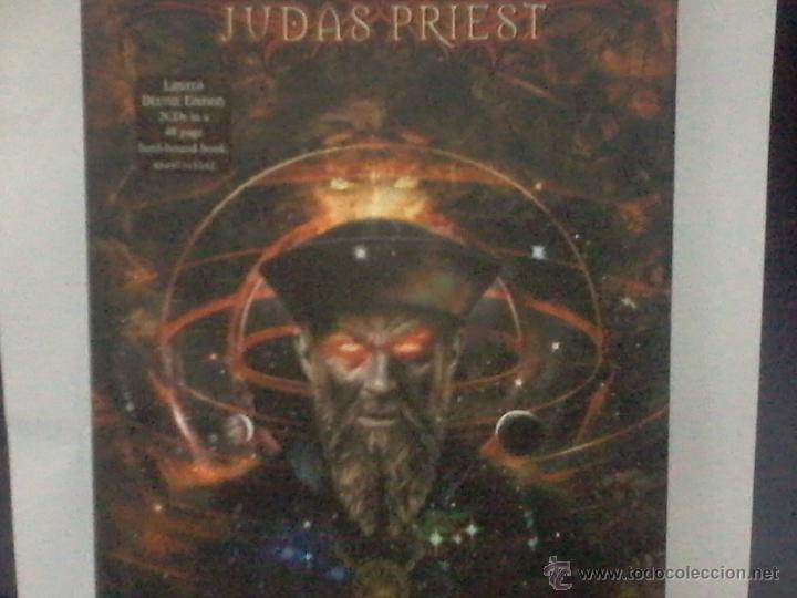 JUDAS PRIEST NOSTRADAMUS EDICION DELUXE LIMITADA 2 CD (Música - CD's Heavy Metal)