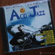 CDs de Música: ACID JAZZ Nº 1, EDICION ESPAÑOLA, CD VARIOS. OFERTA MES DE LA MUSICA EN TODOS LOS FORMATOS. Lote 41226961