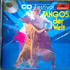 CDs de Música: TANGOS DER WELT-ALFRED HAUSE INTERPRETA 16 FAMOSOS TANGOS-CD ALEMÁN- RAREZA. Lote 41257712