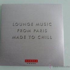 CDs de Música: CD LOUNGE MUSIC FROM PARIS MADE TO CHILL, DANZKA VODKA. Lote 41261603