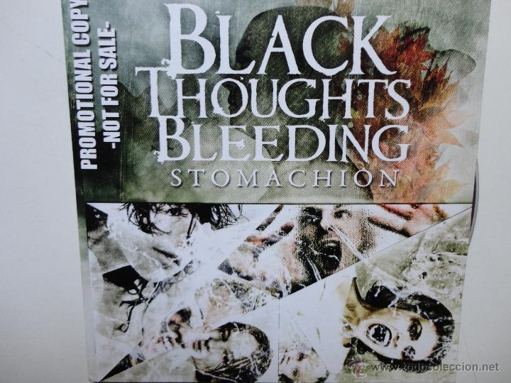 BLACK THOUGHTS BLEEDING - STOMACHION - PROMO CD CAR 2010- 12 TRACKS- NEAR MINT. (Música - CD's Heavy Metal)