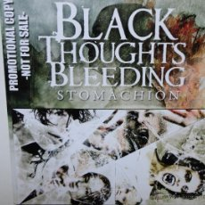 CDs de Música: BLACK THOUGHTS BLEEDING - STOMACHION - PROMO CD CAR 2010- 12 TRACKS- NEAR MINT.. Lote 41266840