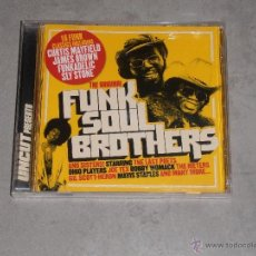 CDs de Música: THE ORIGINAL FUNK SOUL BROTHERS AND SISTER-JAMES BROWN,OHIO PLAYERS,FUNKADELIC....- UNCUT - CD. Lote 41352156