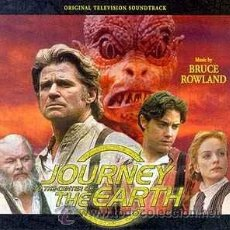 CDs de Música: JOURNEY TO THE CENTER OF THE EARTH / BRUCE ROWLAND CD BSO. Lote 41356922