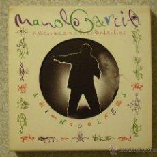 CDs de Música: MANOLO GARCIA(EL ULTIMO DE LA FILA).ARENA EN LOS BOLSILLOS...PACK 6 CD´S SINGLES. Lote 48487914
